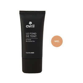 Foundation Miel  30ml - Certified organic