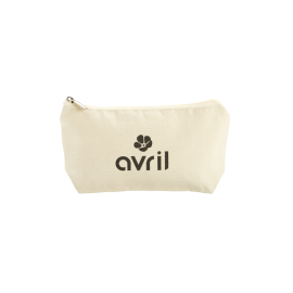 Make-up case in organic cotton   Small size