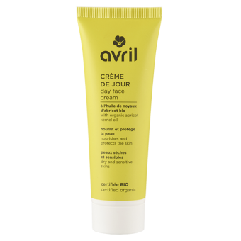 Face cream for day Dry & Sensitive Skins  50ml - Certified organic