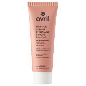 Purifying face mask  50ml - Certified organic
