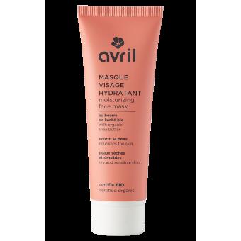 Moisturizing face mask  50ml - Certified organic