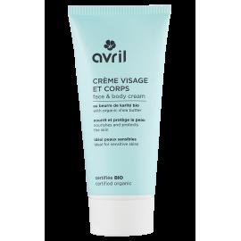 Face & body cream  200 ml - Certified organic