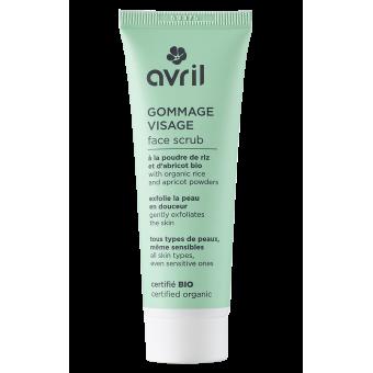 Face scrub  50ml - Certified organic
