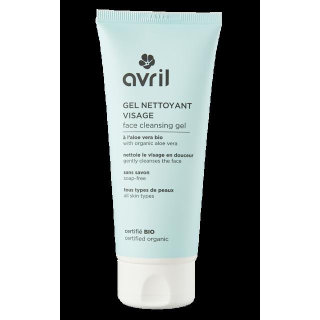 Organic cleansing gel