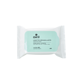 Cleansing wipes  x 25 - Certified organic