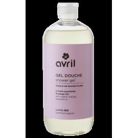 Organic shower gel Infusion de lavande fruitée