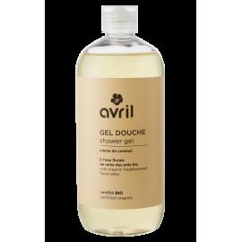 Shower gel Crème de caramel  500ml - Certified organic
