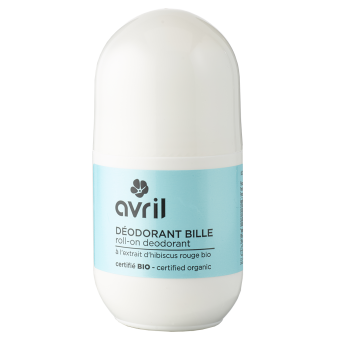 Roll-on deodorant  50ml - Certified organic