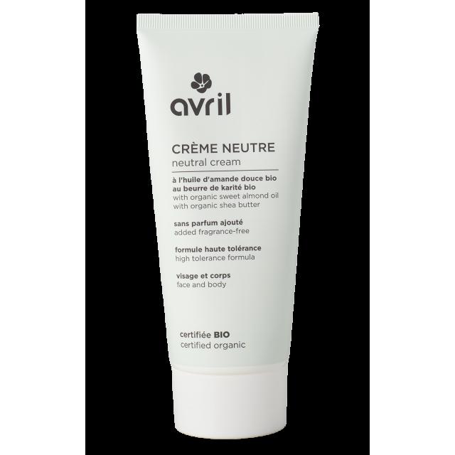 Organic neutral cream