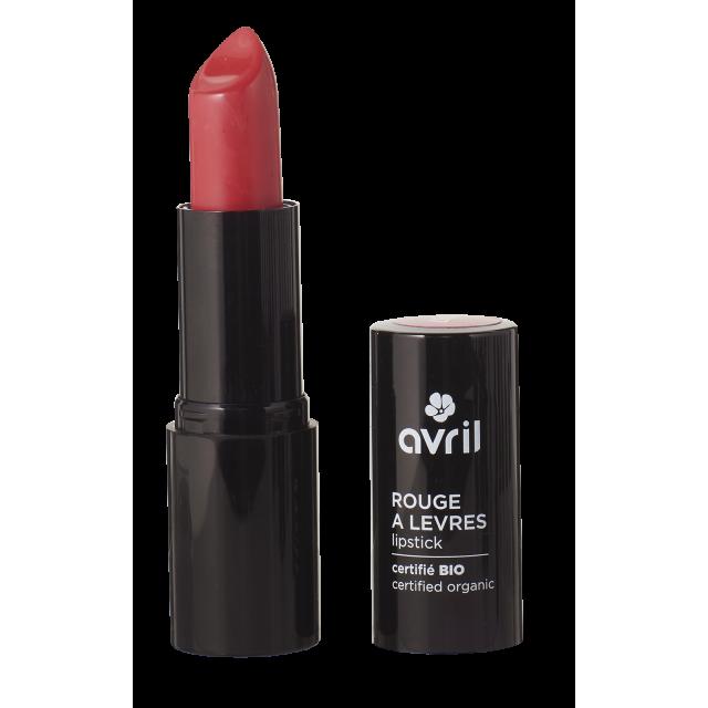 Organic red lipstick Coquelicot