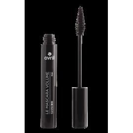 Organic black volume mascara