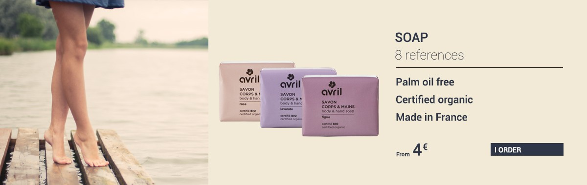 New: the certified organic soap